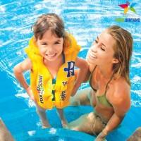 INTEX Baju Jaket Ban / Pelampung Renang Anak | Swim Vest | 3-6 th