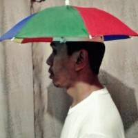Payung Mini Kepala Untuk Memancing (Umbrella Funny Hat)