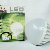 Lampu LED Bohlam Sensor Suara 15 Watt