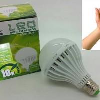 Lampu LED Bohlam Sensor Suara 10 Watt