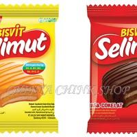 Richeese Nabati Bisvit Selimut Keju / Coklat Isi 20pcs per Pack