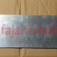 Plat strip aluminium 50x280 danTebal30mm dan as stenlis D20mm