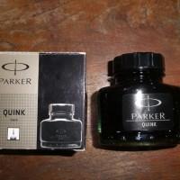 Tinta Cair Parker Quink 57 ml Original/ Tinta Botol Fountain Pen