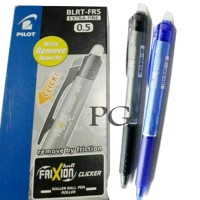 Pilot Pen Frixion 0.5 (Pulpen Yang Bisa Dihapus) Clicker Ball Pen 05