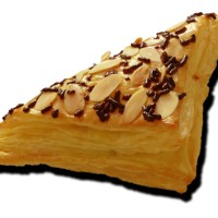 puff pastry choco almond