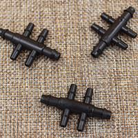 Konektor 6 Cabang Dari Selang PE 7mm ke Selang PE 5mm