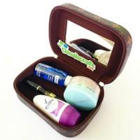 Cosmetic Case mini Motif LV Mono / Tempat Kosmetik mini / Make Up Case