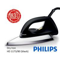 Seterika / Setrika Dry Iron Philips HD 1173