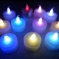 Jual Lilin Elektrik Berubah 7 Warna Baru   Peralatan Kebutuhan Rumah