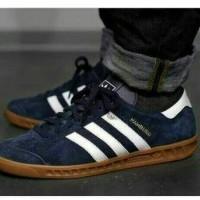 Sepatu Adidas Hamburg Blue Navy Quality Original