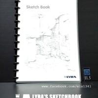 Lyra Sketch Book A4