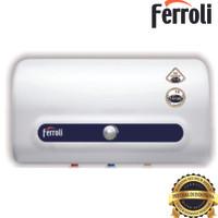 Pemanas air Ferolli  seri QQ Tem 30 ltr  hemat listrik daya 350 watt