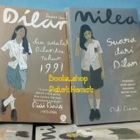 Paket Novel Dilan 2 dan Milea - Pidi Baiq (2buku Harga Hemat )