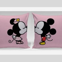 Bantal Sofa / Bantal Couple - Mickie & Minnie