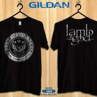 Kaos band lamb of god pure american metal-kaos musik gildan lg24
