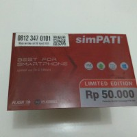 Nomor Cantik Telkomsel SimPATI 11 Digit 081234 7 0101