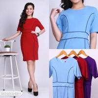 Reshanaf Plain Bodycon Mini Dress