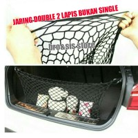 Jaring Cargo Double Net Bagasi Mobil Toyota Honda Nissan