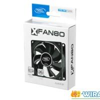 Deepcool XFan 80 Black with Hydro Bearing - Fan Casing 8cm 1800Rpm