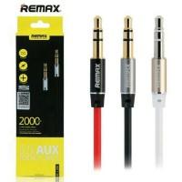 Kabel Audio Remax 3.5mm Cable Aux 2M - Hitam