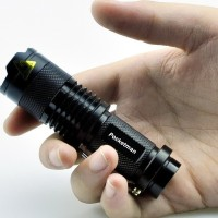 Senter LED Mini Super Terang bisa Zoom & Anti air (POCKETMAN)