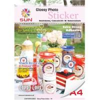 Kertas Sticker - SUN Next Generation Glossy Photo Sticker 140 Gsm.