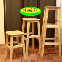 kursi kayu kursi bakso 50 cm Waikiki