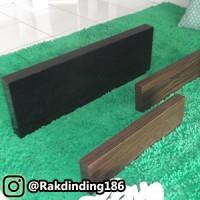 3 Rak Dinding Minimalis, Gantung, Kayu, Custom Ukuran Sesuai Pilihan