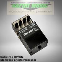Efek Gitar Boss Digital Reverb RV-6 / RV6 / RV 6 baru 100% murah!
