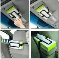 tempat kotak tisu mobil / car tissue box holder / penjepit kotak tisu
