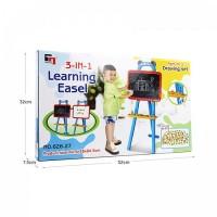 Mainan Edukatif Edukasi Anak Learning Easel Papan Tulis Magnetic Board