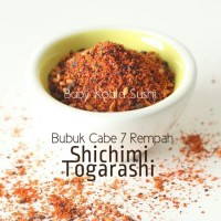 Shichimi Togarashi | Bubuk Cabe Jepang 7 Rempah Share Size 50 gram