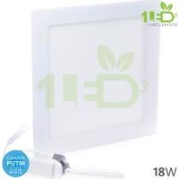 Lampu downlight LED Panel Kotak 18W Putih 18 W Watt 18Watt Tipis
