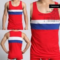 SEOBEAN TTSB-007 KATUN Tanktop Kaos Oblong Singlet Gym Fitness Jogging