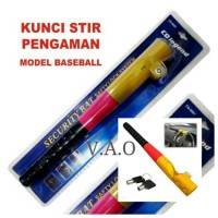 Kunci stir pengaman model Baseball.