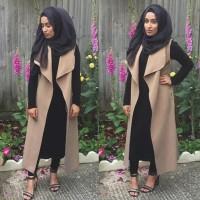 4in1 hijab anisah [ Setelan baju muslim ]