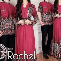 Rachel Red [ Couple batik / Dress ]