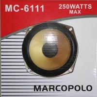 """MARCOPOLO SPEAKER SUBWOOFER 6 """" / 6 INCH 8 OHM 250 WATT DOUBLE MAGNET"""