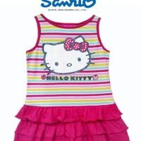 Pakaian/Baju/Dress Anak Hello Kitty Pelangi