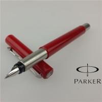 Parker Fountain Pen Vector Red Fine Nib Original UK Bonus Tinta Parker