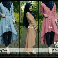 Safira Hijab [ setelan baju muslim ]