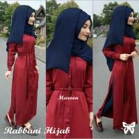 Rabbani Red [ setelan baju muslim ]