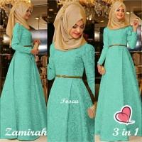 Hijab Maxi Zamirah 3in1 Tosca