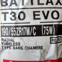 Ban Bridgestone Battlax 190/55-17 T30 EVO Sport Touring Motor Tubeless