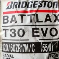 Ban Bridgestone Battlax 120/60-17 T30 EVO Sport Touring Motor Tubeless