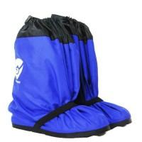 RAIN COVER SEPATU BLUE