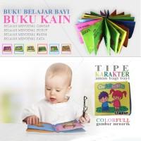 EELIC BABY Toy Soft Book - Mainan Bayi Buku Kain CHARACTER