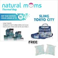 Natural Moms Tokyo City cooler bag seperti gabag borneo
