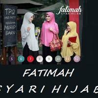 Hijab/Jilbab Fatimah Bergo Lengan