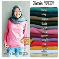 Basic Top, Bahan Kaos Tidak Terawang